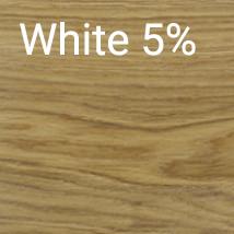 White 5 %